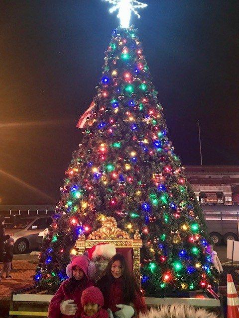 christmas tree lighting image 7