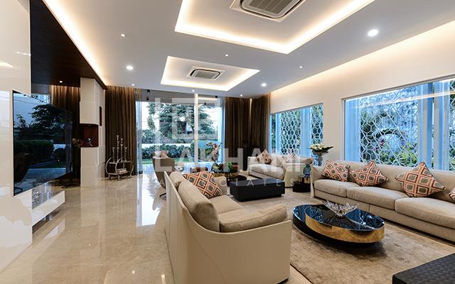 nice large living room interior design