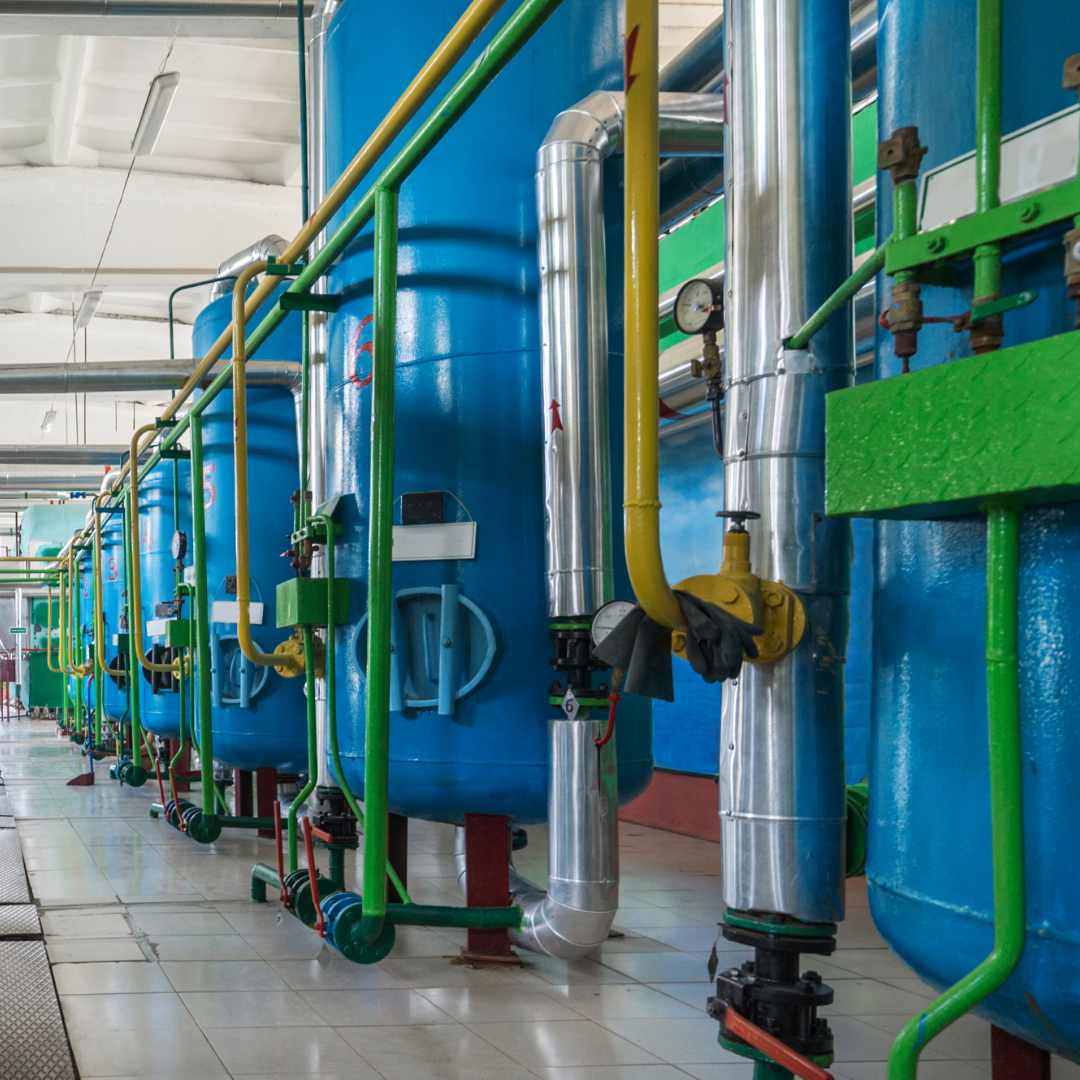 industrial water treatment use