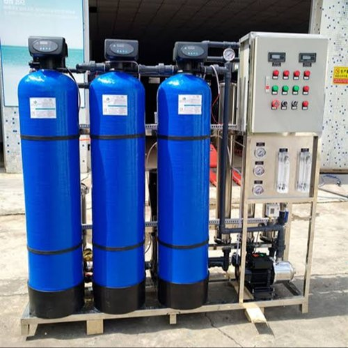 domestic water treatment plant