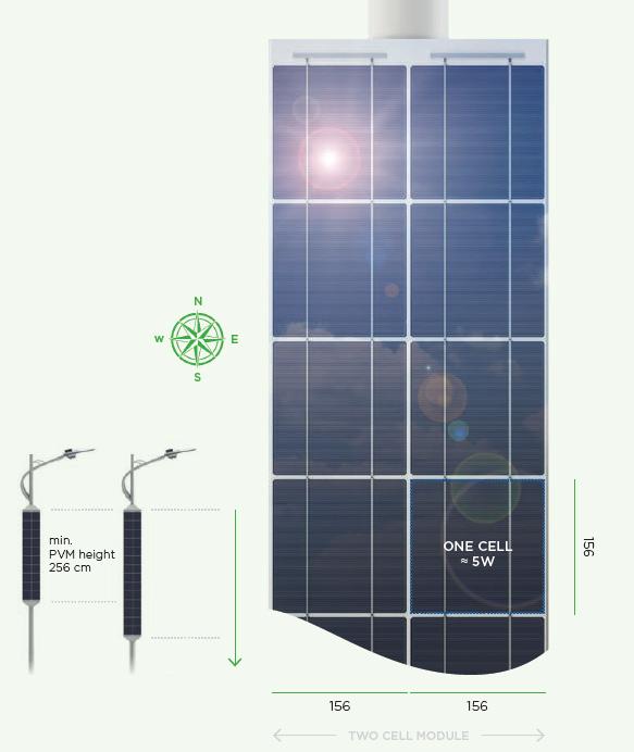 Lumenova Solar Street light