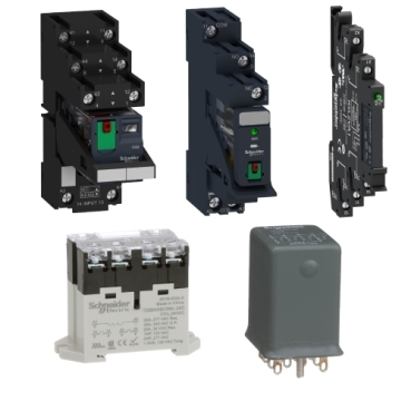 Schneider electric interface, safety and control relays