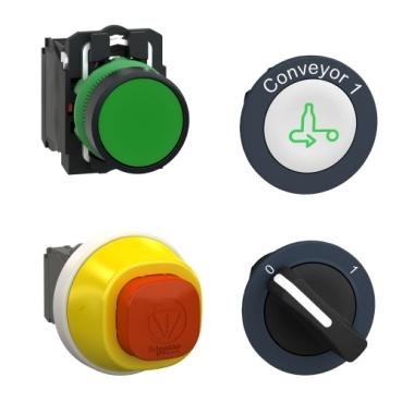 Schneider electric push buttons, switches, pilot lights and joysticks