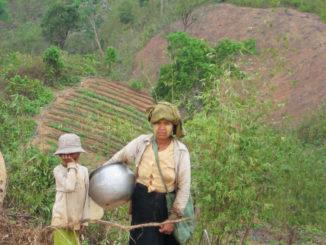 Chin Farmers in Myanmar