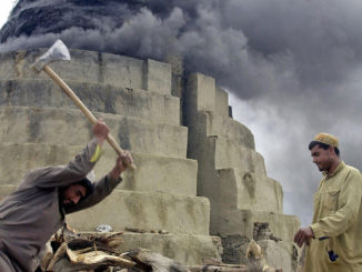 Workers in Afghanistan