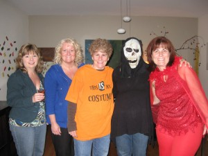 "One local book club replicated the ""Hallowiener Party"" from Friday Mornings at Nine!"