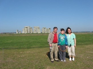Stonehenge - family pic