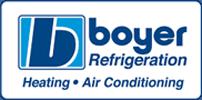 Boyer Refrigeration Heating & Air Conditioning Logo