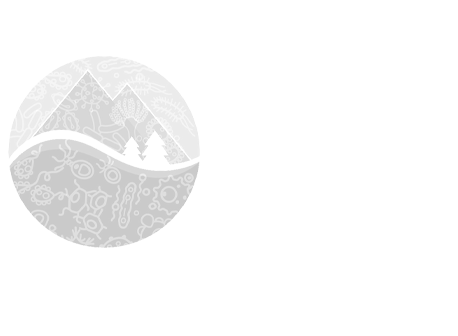 Microbial Launchpad logo - white