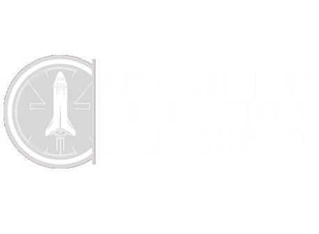 Southeast Wyoming Innovation Launchpad logo - white