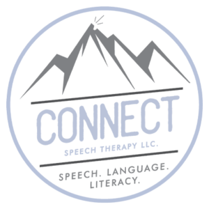 Connect Speech Therapy logo - color