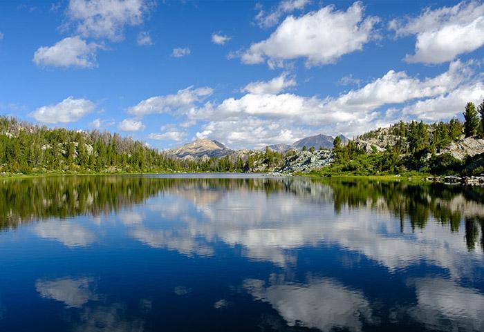 Impact Laramie mountain lake image