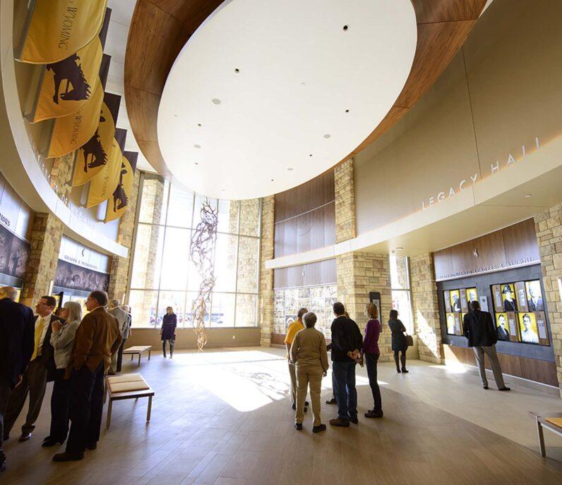 University of Wyoming building interior