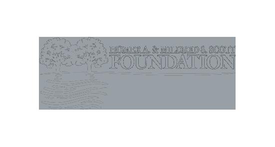 Homer and Mildred Scott Foundation logo
