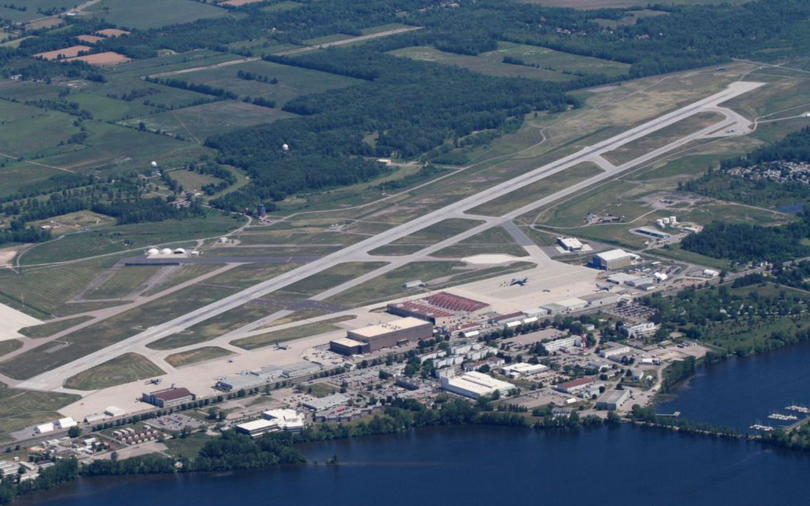 Canadian Armed Forces Base (CFB) in Trenton