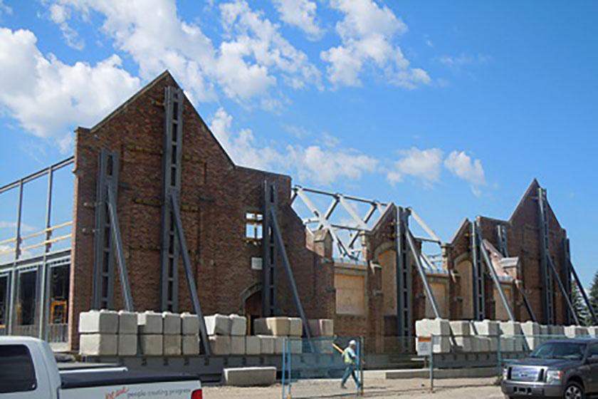 Elbow Park School Demolition