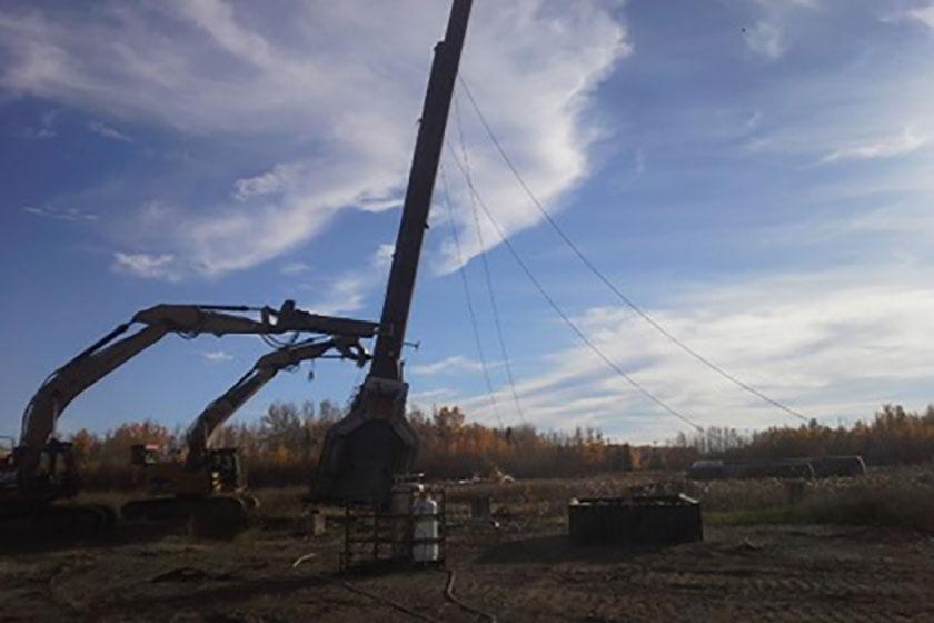 Husky Energy Demolition