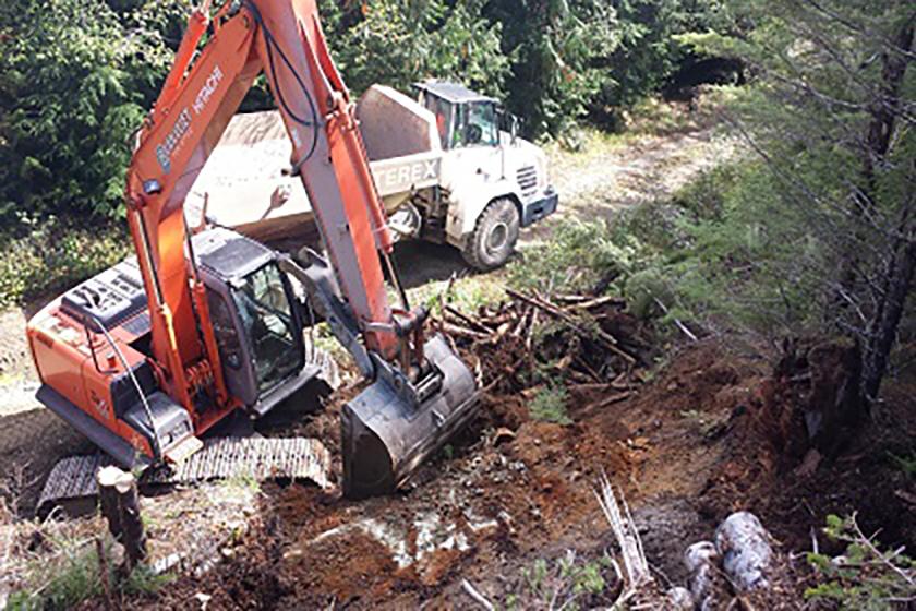 Mount Blenheim Excavation