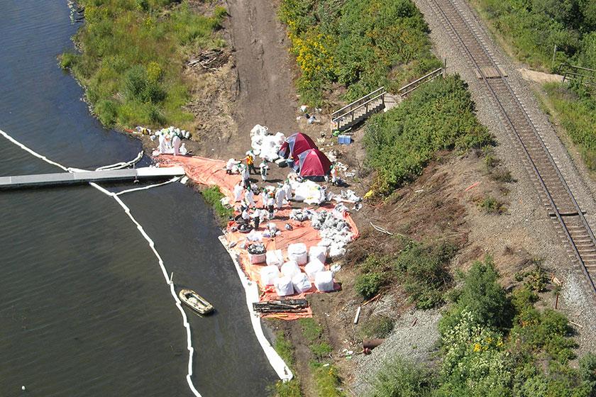 Wabamum Lake Oil Spill