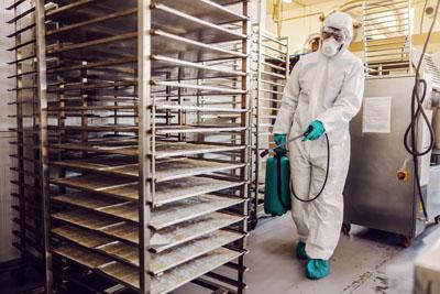Industrial Kitchen Clean Up