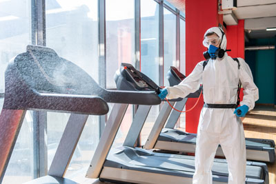 Gym Clean Up Covid