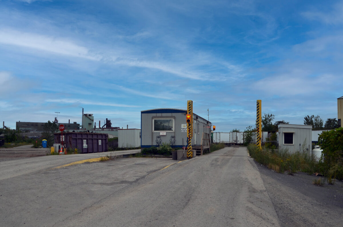 Dual Scale Waste Transfer Station