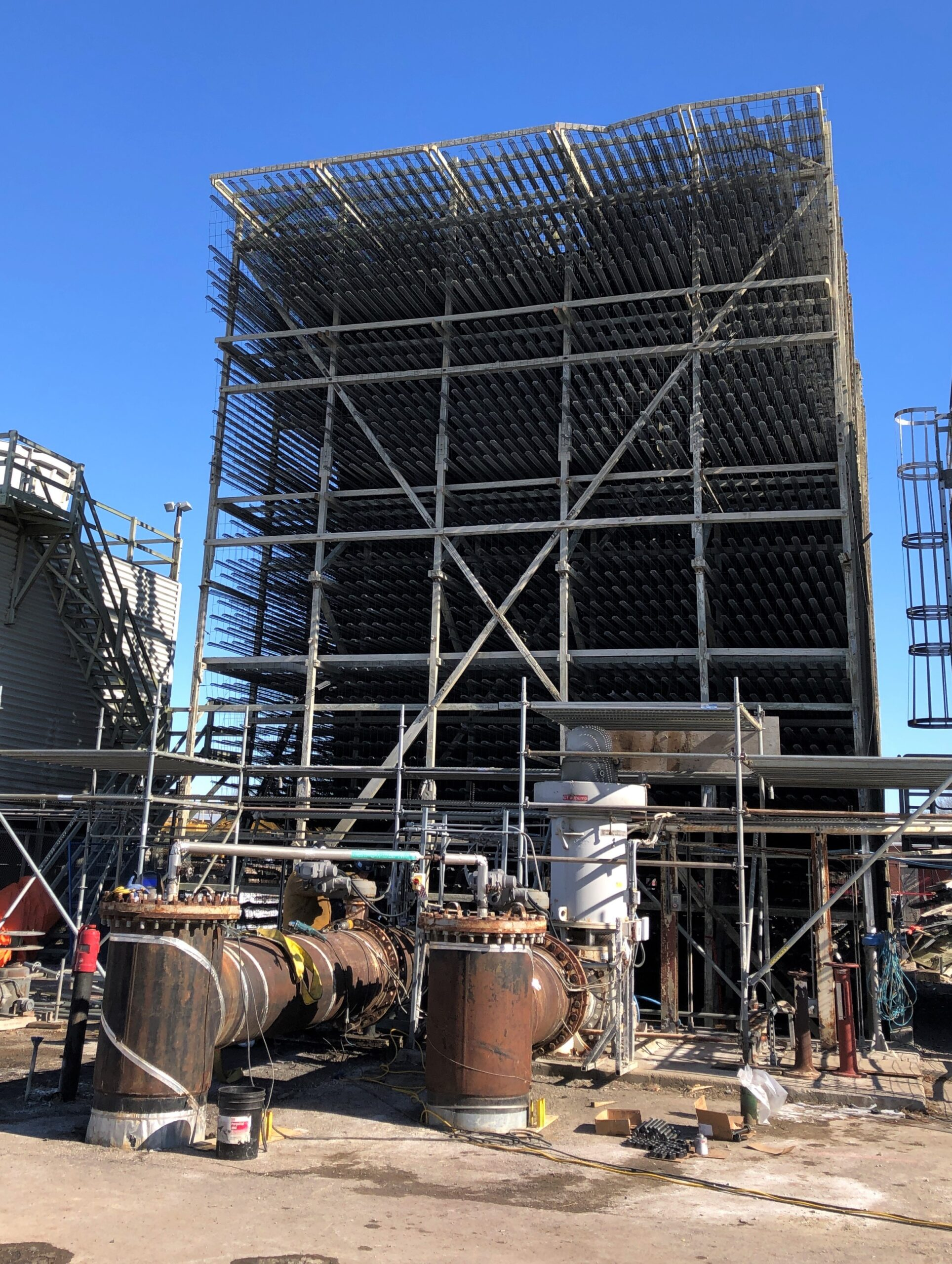 Deconstruction Tower Structure