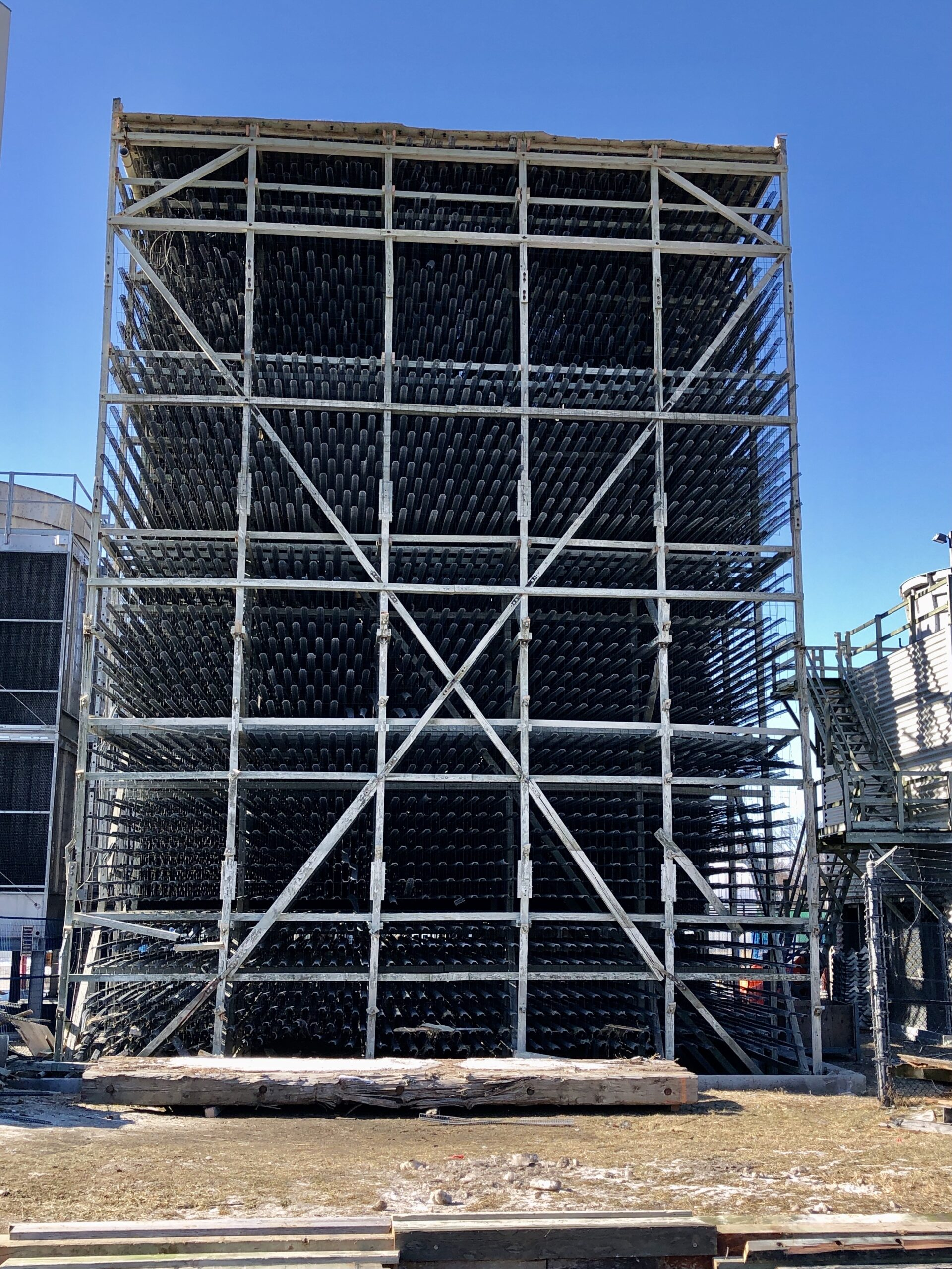 Deconstruction Cooling Tower 3 Vertical