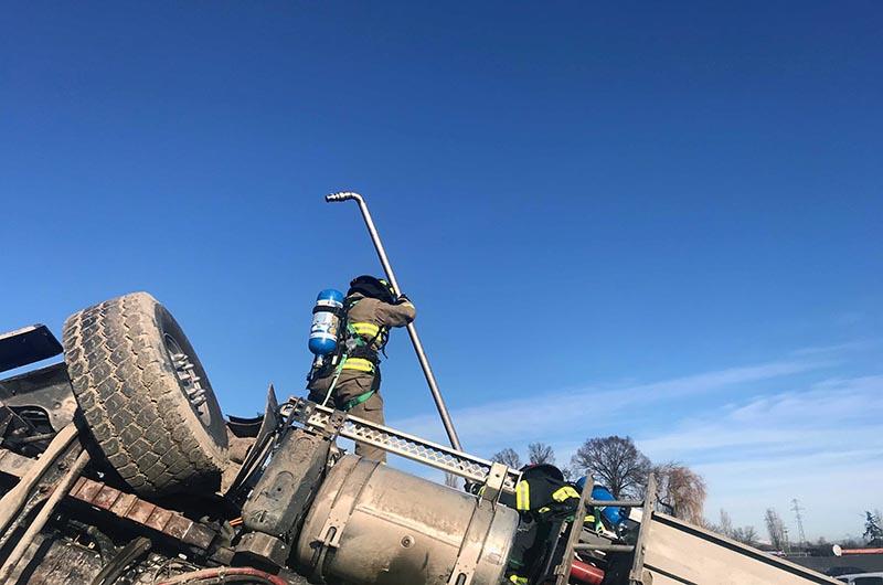 Roadside Spill Response at Highway 1