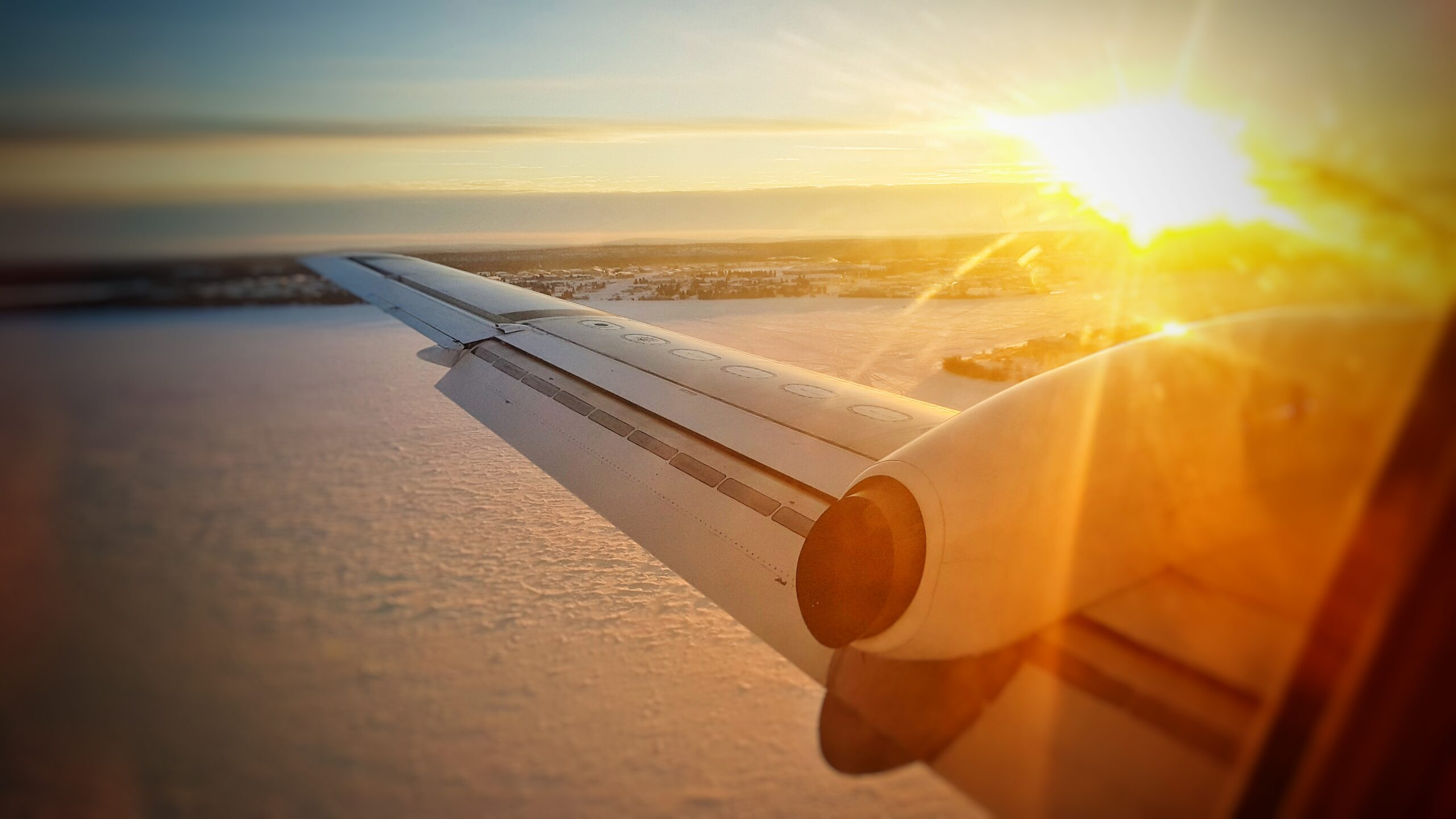Plane to Athabasca