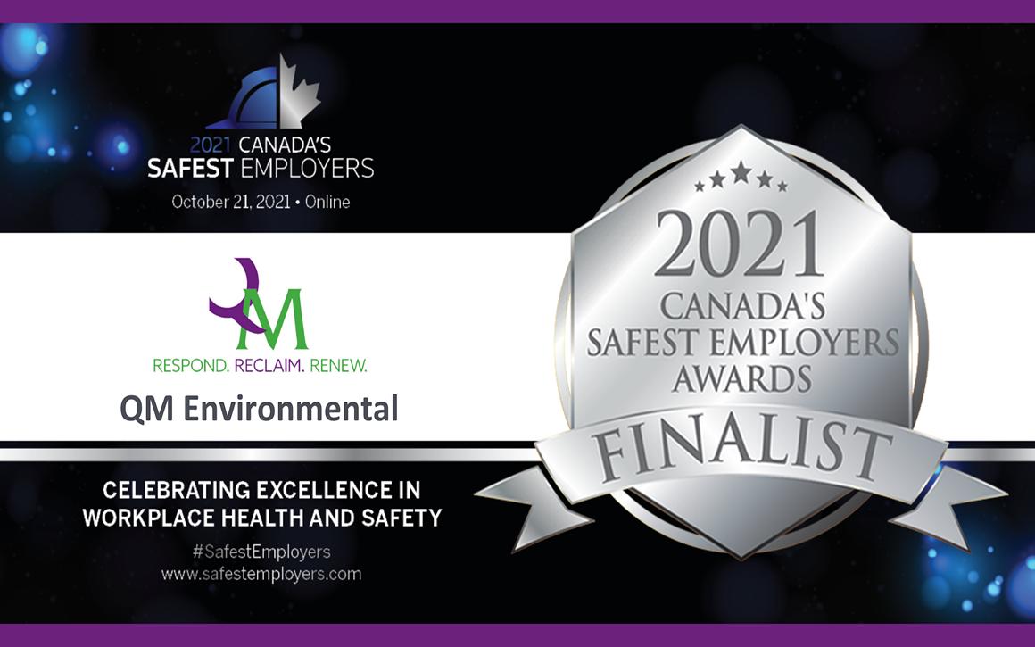 Safest Employers Badge QM Environmental