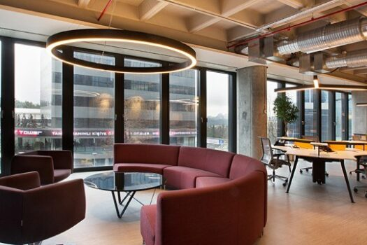 Productivity Meets Sociality EY Turkey Headquarters Project