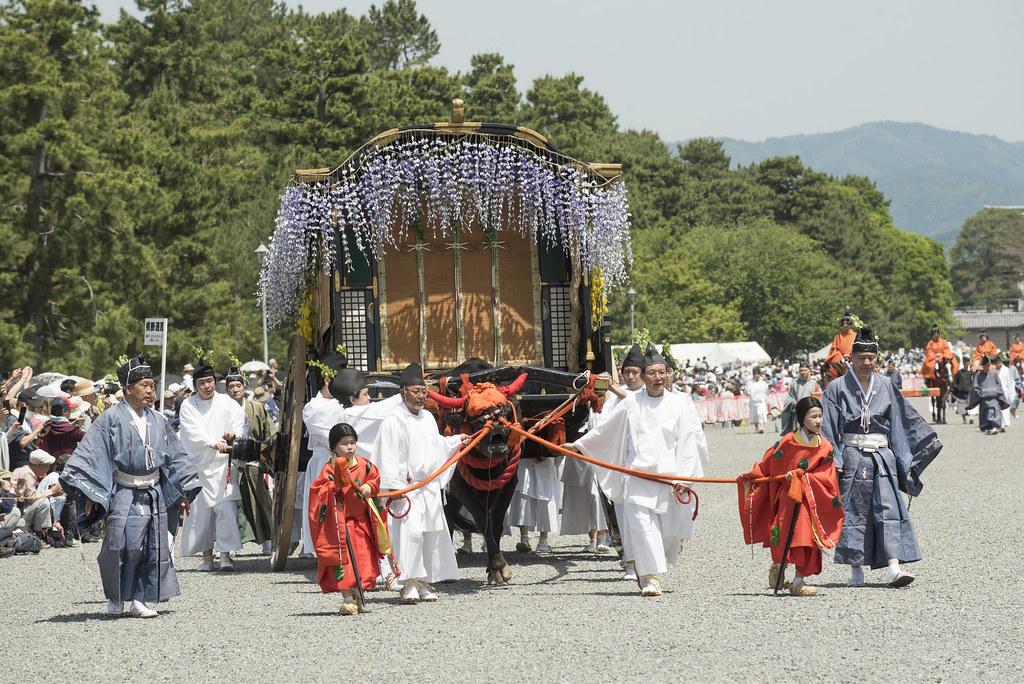 京都三大祭之一 「葵祭」(2021年5月15日 )