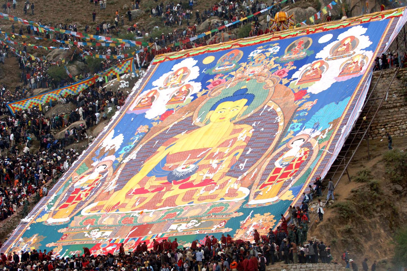 西藏最隆重以及規模最大的節日