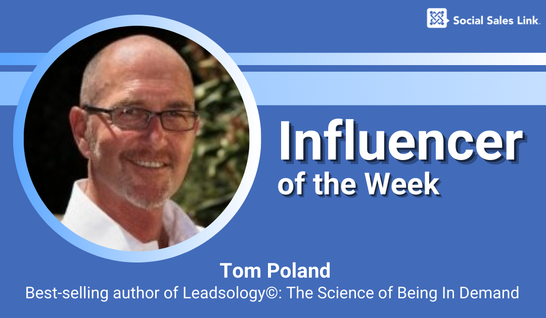 Influencer of the Week - Tom Poland