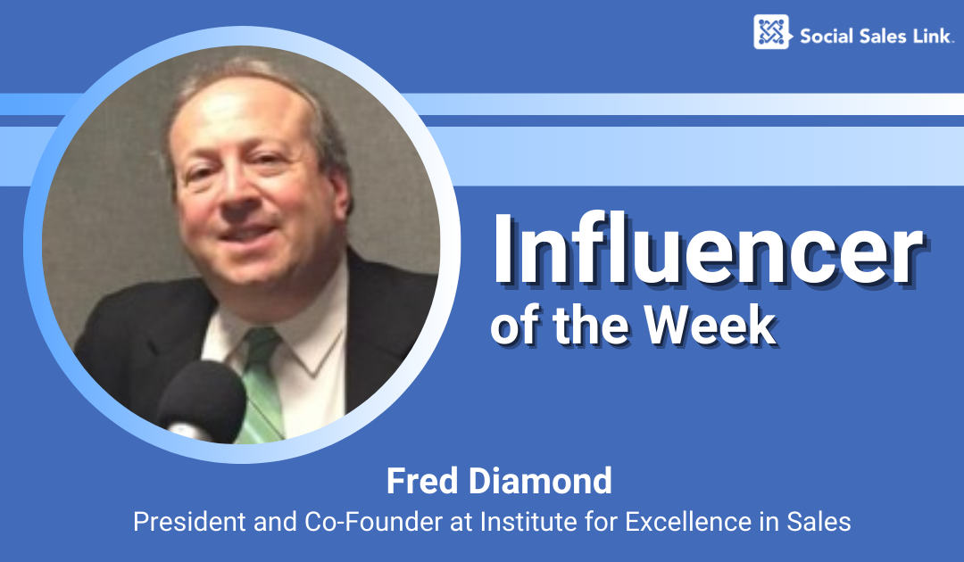 Influencer of the Week - Fred Diamond