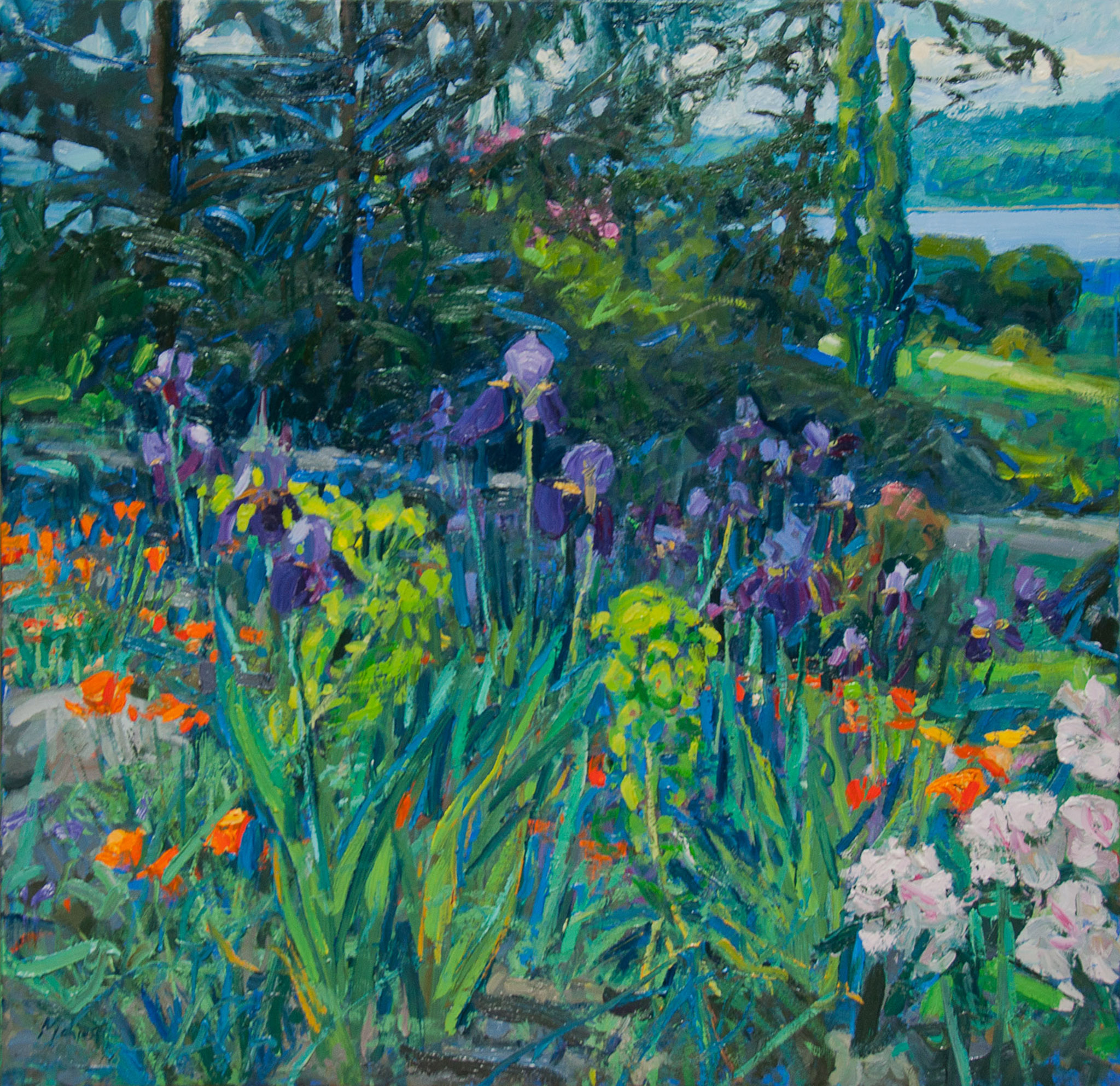 The Artist's Garden—Seaside