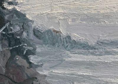 Low Tide — Snowy Day Detail 1