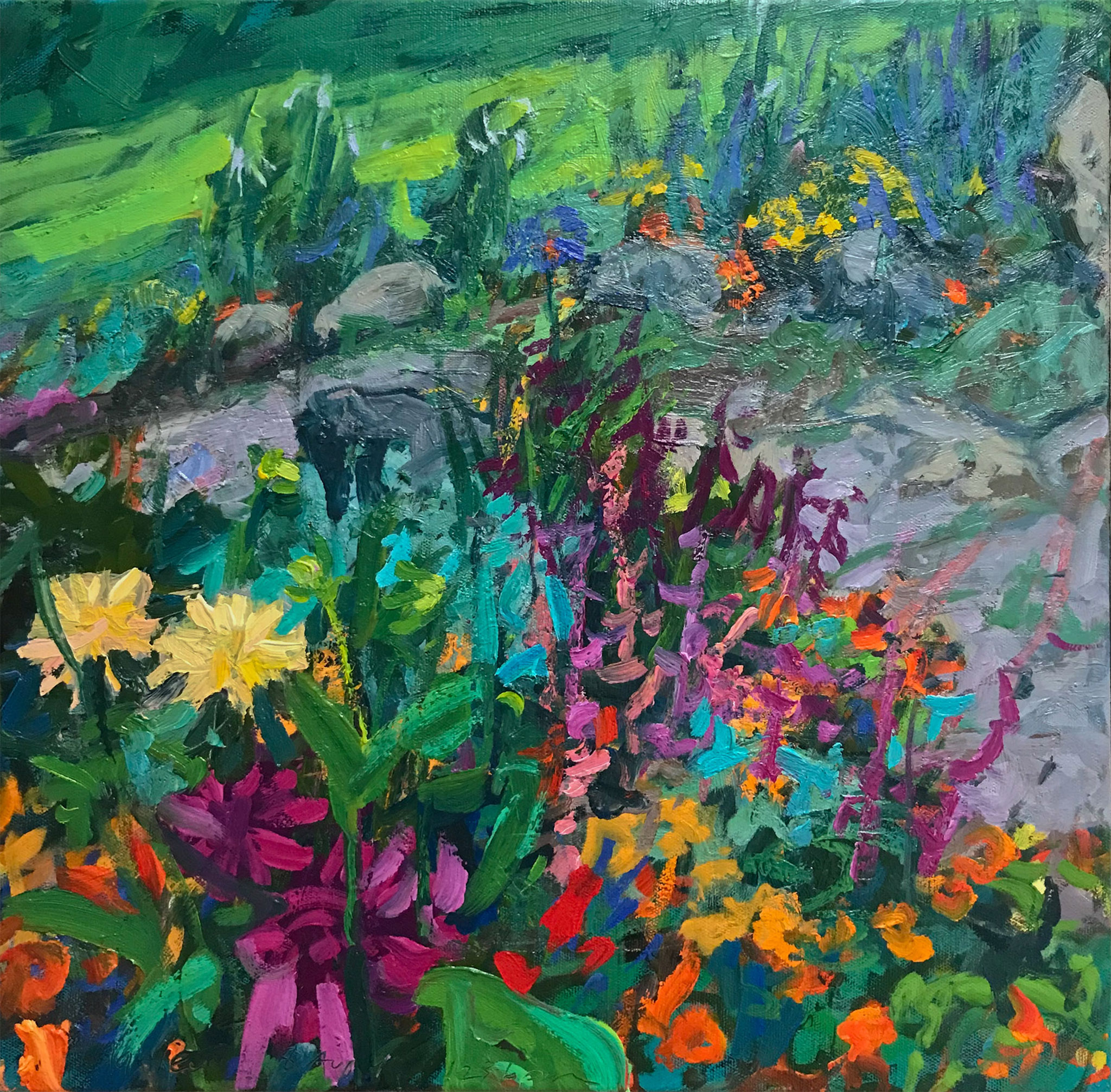 Impression—Sunlit Garden