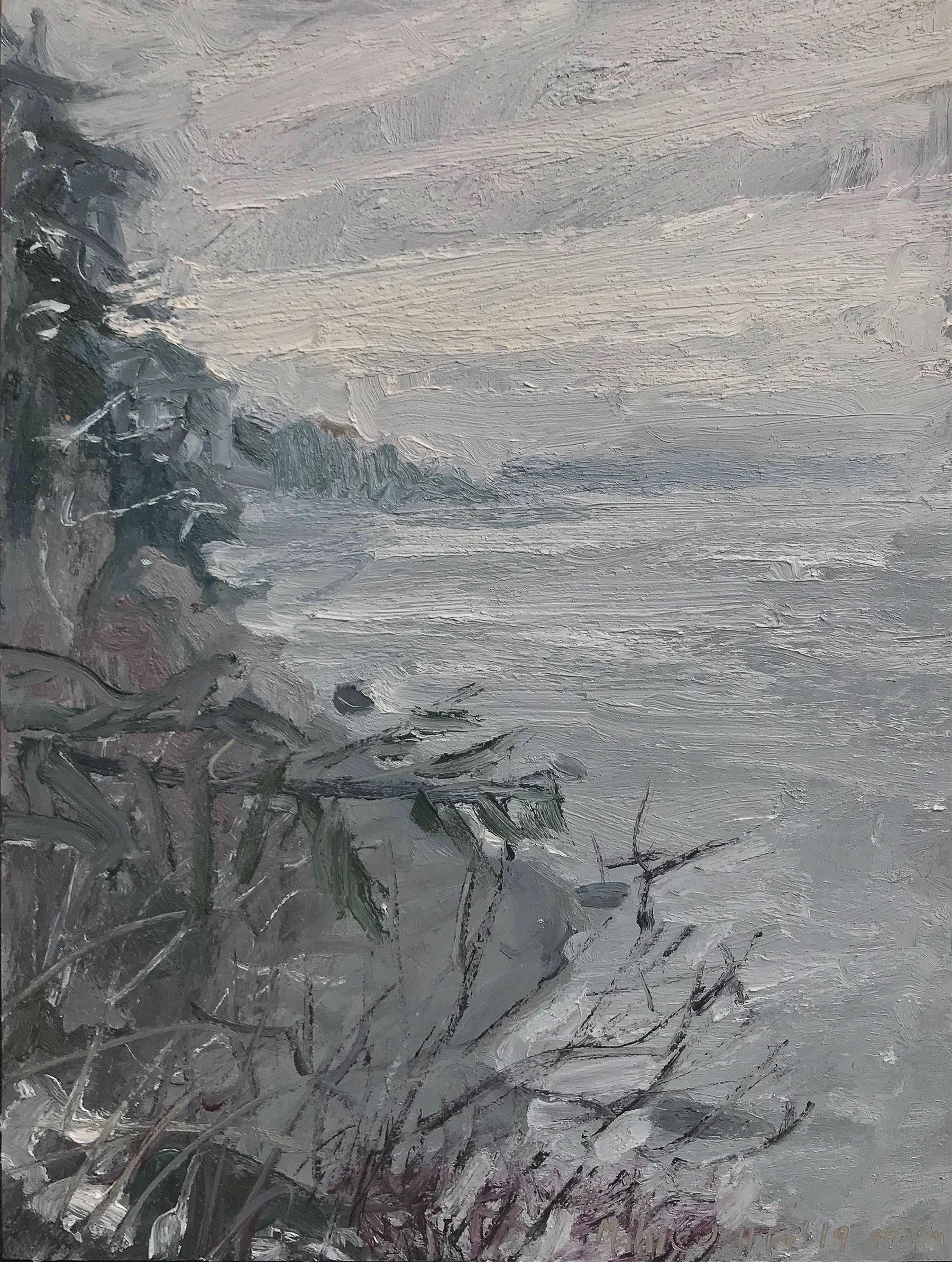 Low Tide — Snowy Day