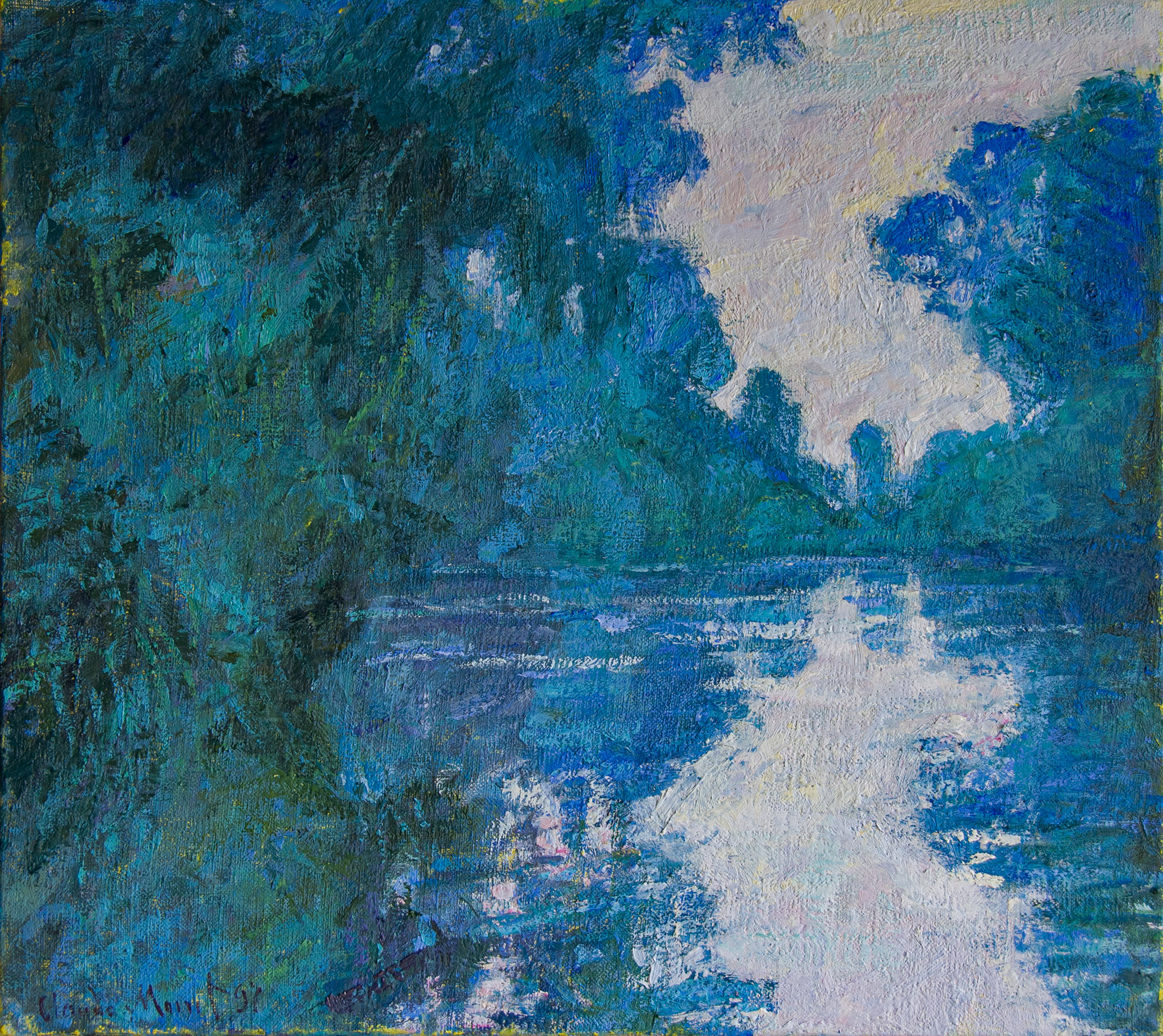 Branch of the Seine Near Giverny