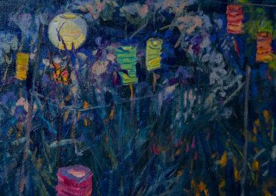 Island Garden—Paper Lanterns