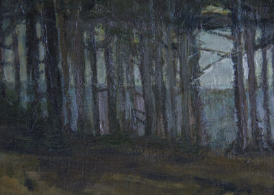 Pine Grove Twilight, Detail