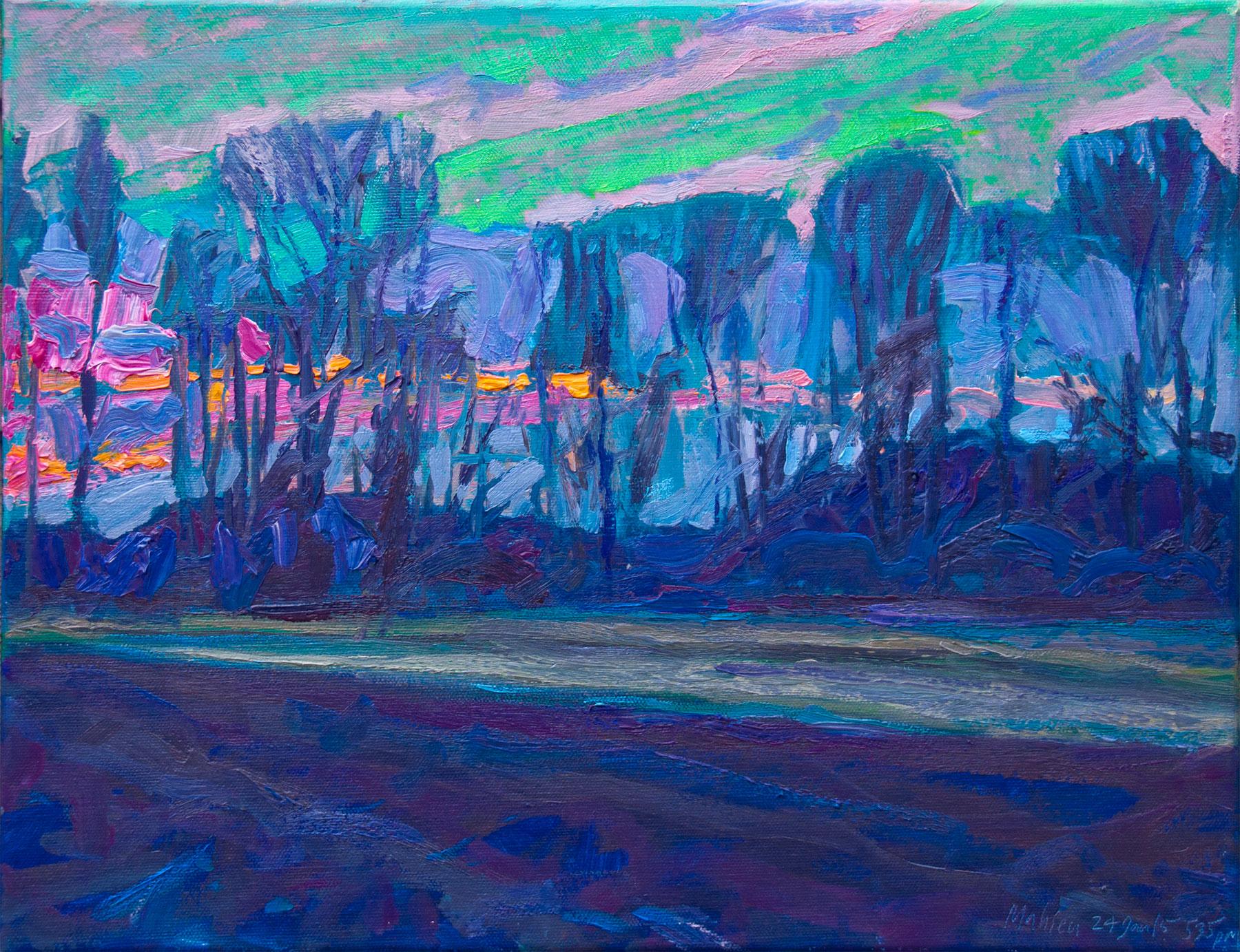 Spring Is Coming—Auxvasse Creek Levee