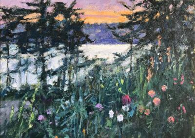 Island Garden—Evening