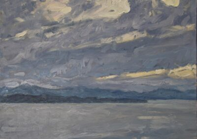Blustery Skies at Sunset (Sky Study #1)