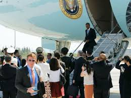 Hangzhou G20 - Obama arrives