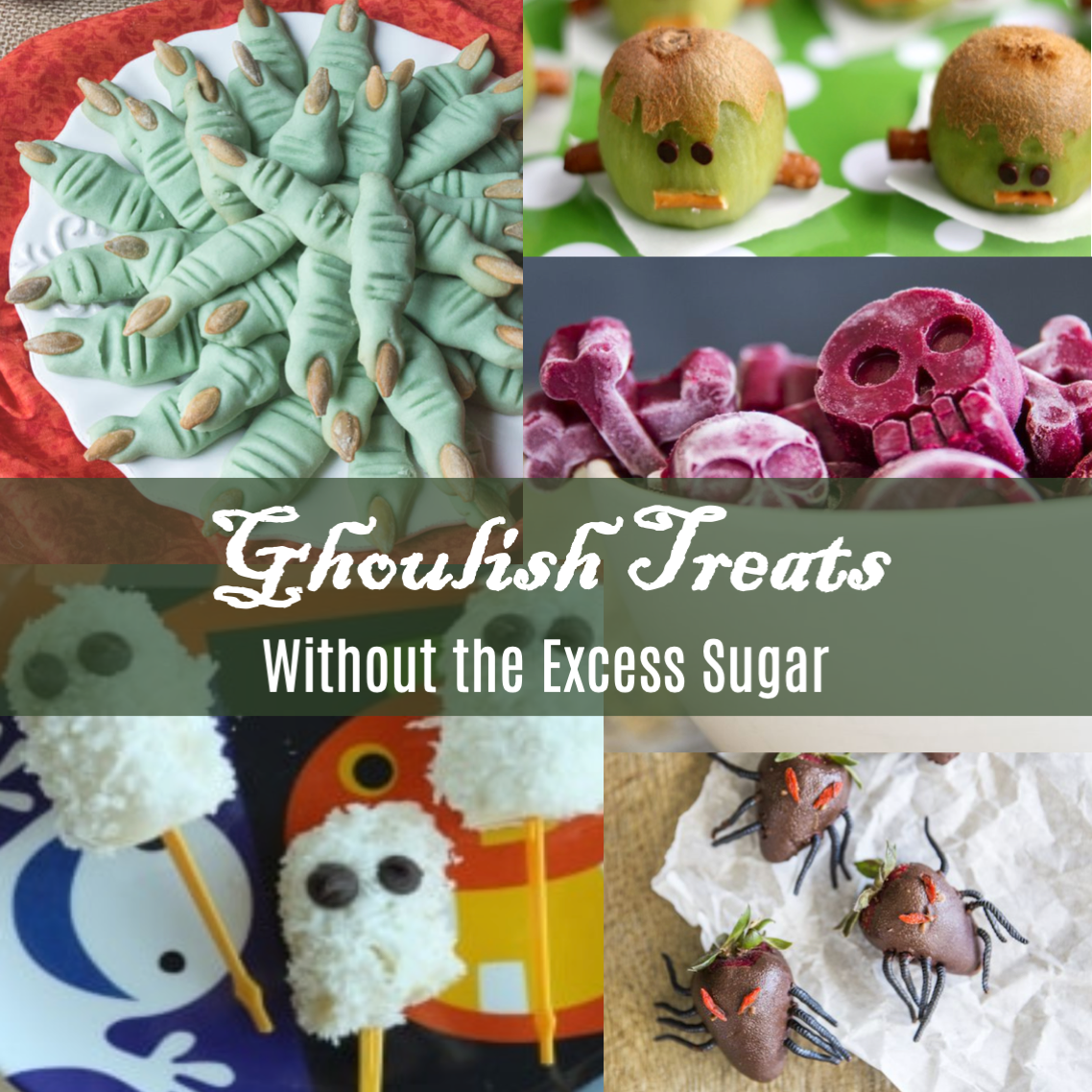 Ghoulish Treats Without The Excess Sugar