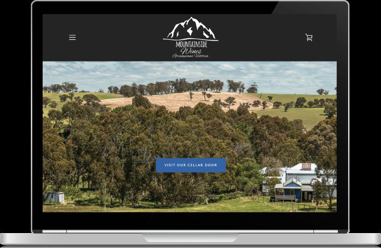Mountainside Wines Website
