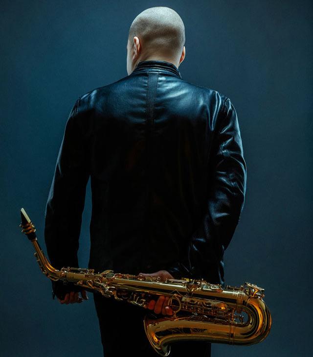 Saxophonist Alex Han